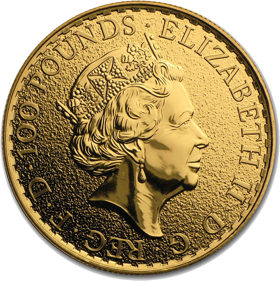 Pre-Owned 2017 UK Lunar Rooster 1oz Gold Coin (Image 2)