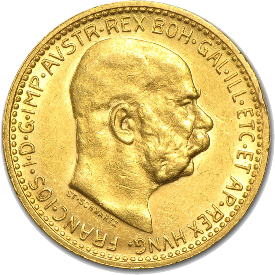 Austrian 10 Corona Gold Coin Free Fully Insured Delivery