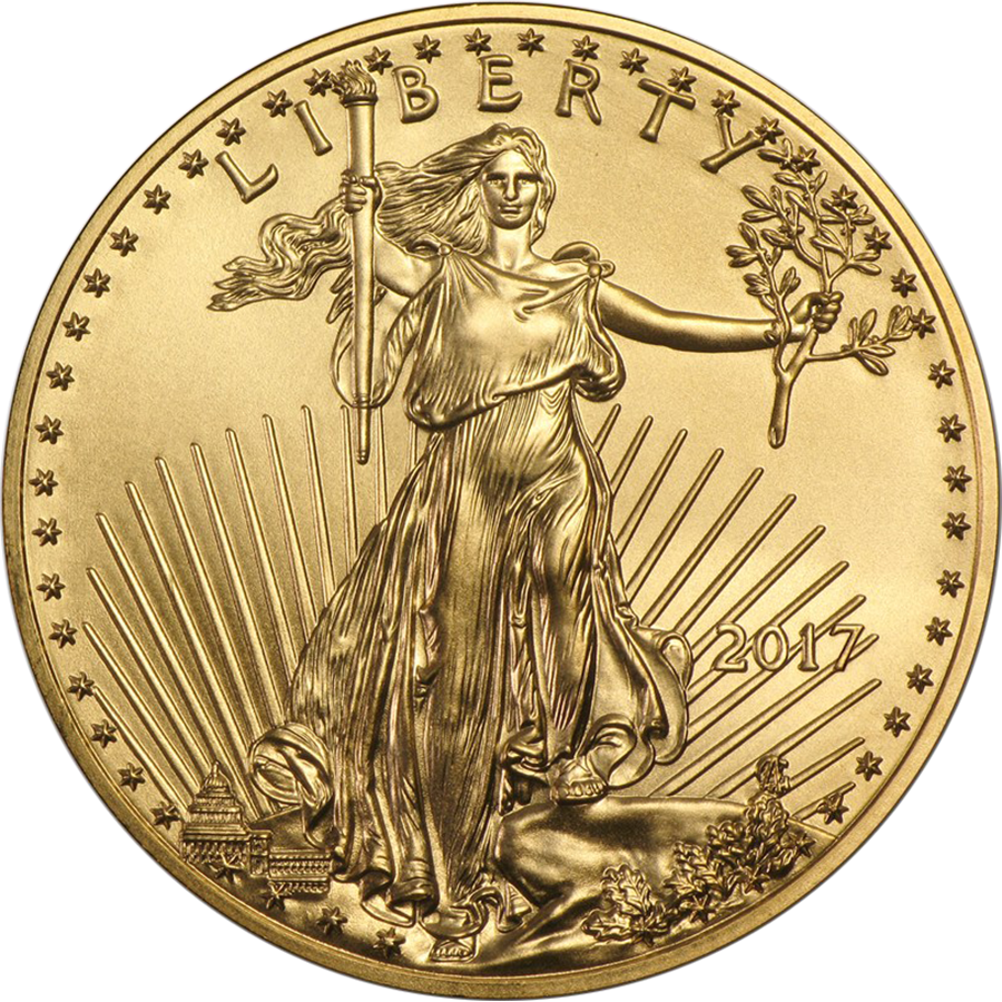 2017 USA Eagle 1/2oz Gold Coin