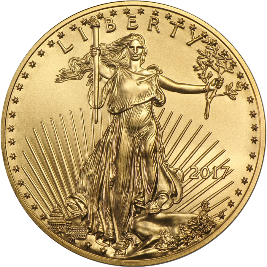 2017 USA Eagle 1/4oz Gold Coin