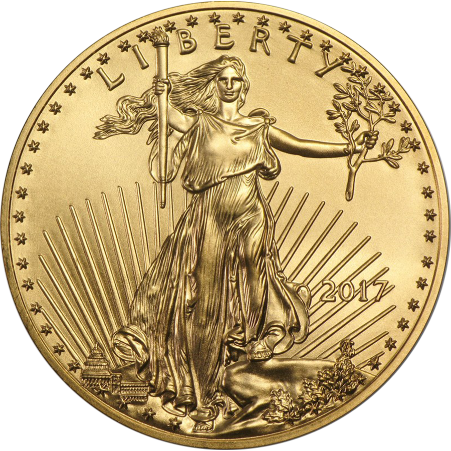 2017 USA Eagle 1oz Gold Coin