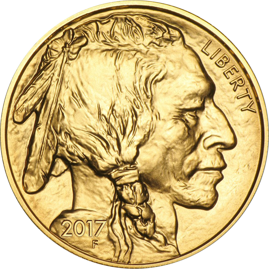 Pre-Owned 2017 USA Buffalo 1oz Gold Coin