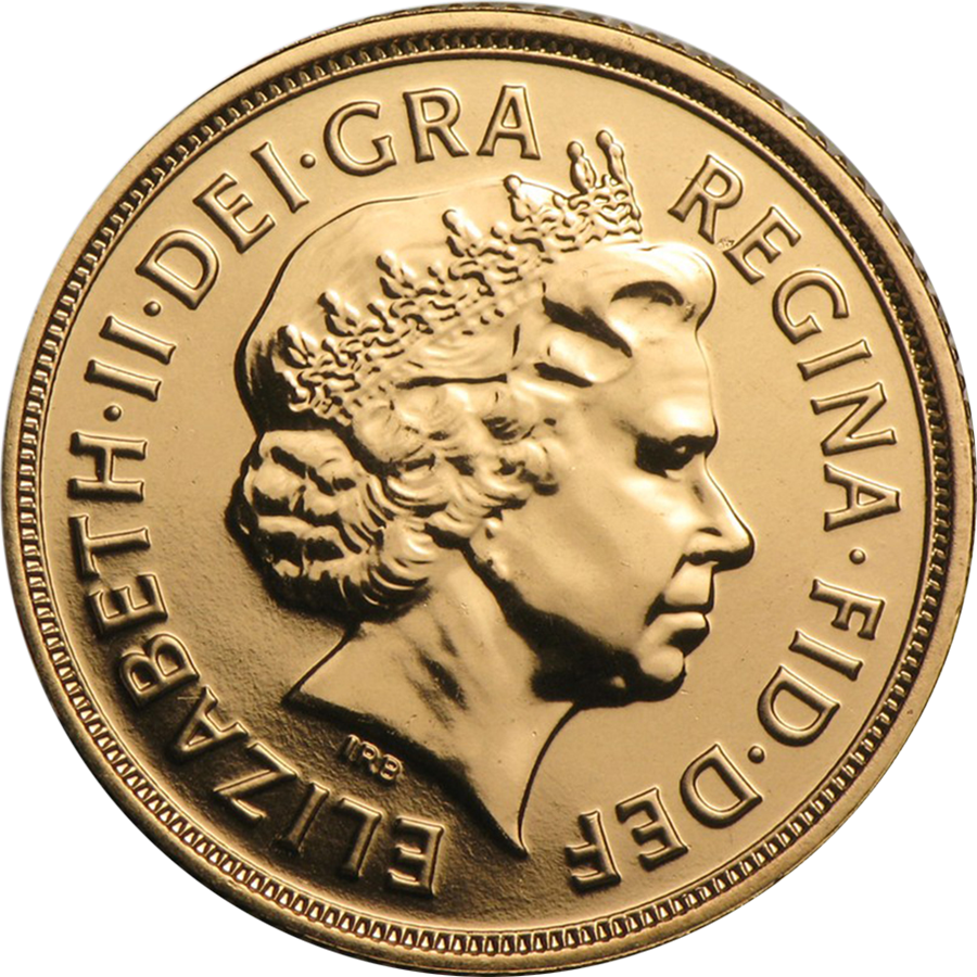 UK Full Sovereign Gold Coin Elizabeth II 1998-2015