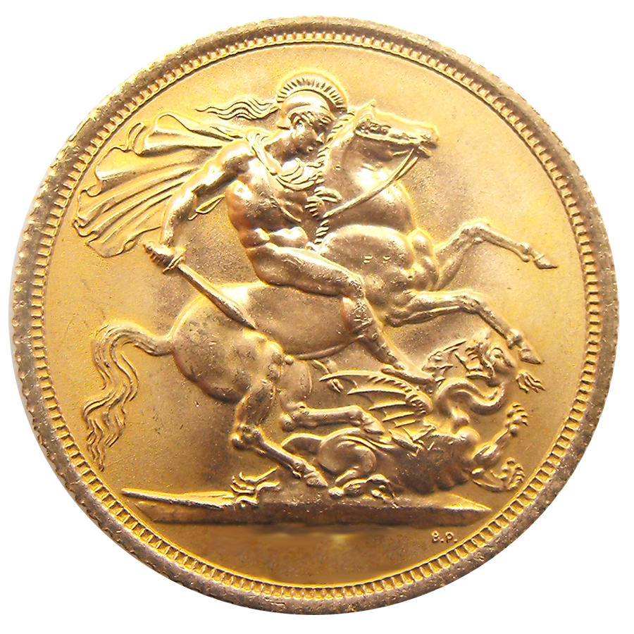 UK Full Sovereign Gold Coin - Any Date