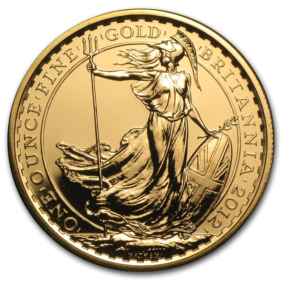 UK Britannia 1oz Gold Coin - Pre 2013