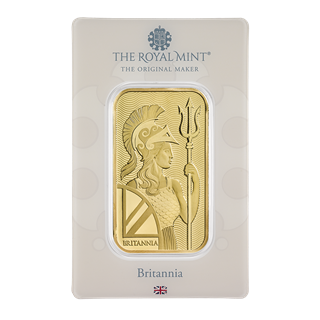 Royal Mint Britannia 1oz Gold Bar